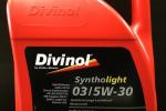 Моторное масло DIVINOL 5W30 03 syntholight, 5 л