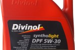 Моторное масло DIVINOL 5W30 DPF Syntholight, 5л.